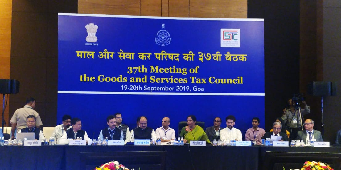 Press Release – 37th Meeting of the GST Council