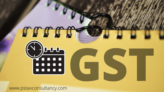 Due dates of filing Form GSTR 3B