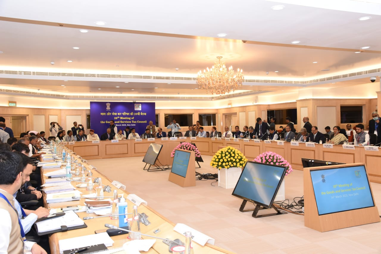 39th Meeting of the GST Council – Law and Procedure related changes